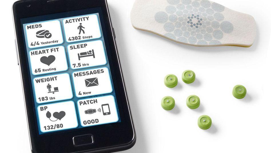 Digitale Pillen, Pflaster, Handy: In drei Schritten vom Patienten zum Arzt