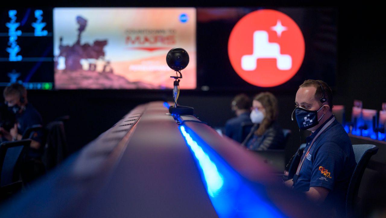 +++ Livestream +++: »Perseverance« ist im Landeanflug auf den Mars - DER SPIEGEL