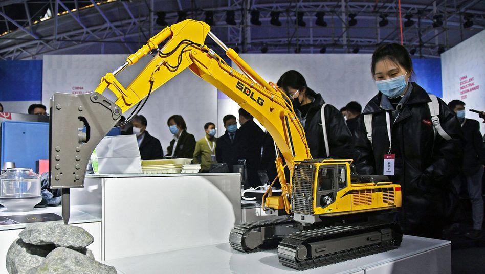 Industrie-Messe in Yantai: Höchster PMI-Wert seit September 2017