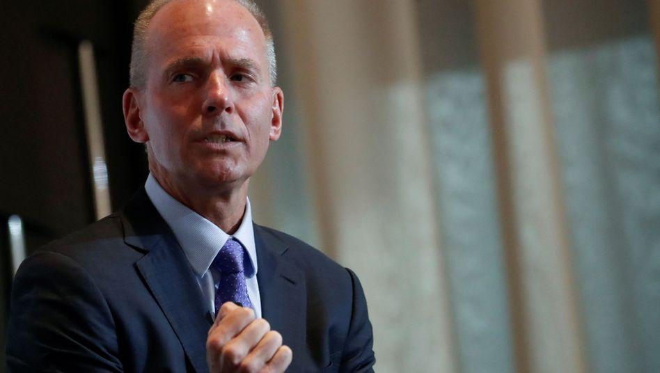 Ex-Boeing-CEO Dennis Muilenburg: 23,3 Millionen Dollar Verdienst im Jahr 2018