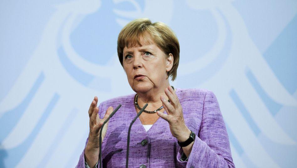 Kanzlerin Merkel: Streit um die Quote