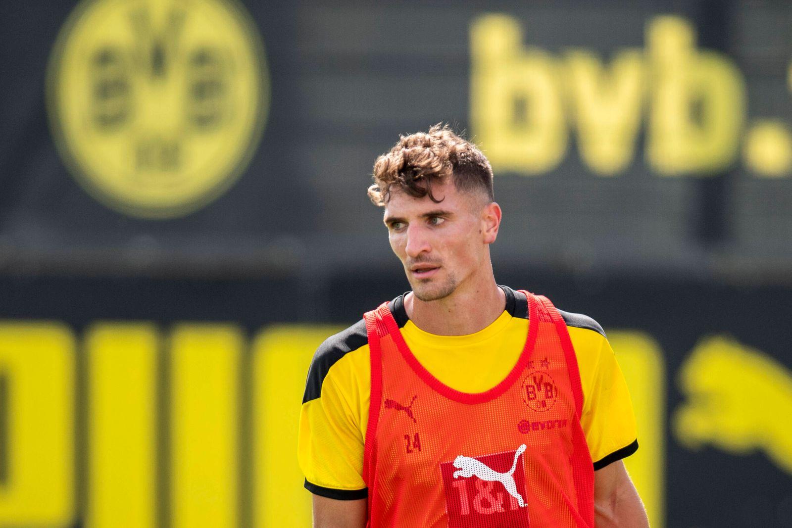 Fußball: 1. Bundesliga, Saison 2020/2021, Training von Borussia Dortmund am 03.08.2020 in Dortmund (Nordrhein-Westfalen