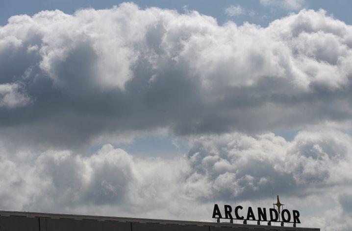 Arcandor-Zentrale in Essen: Aktie zeitweilig vom Handel ausgesetzt