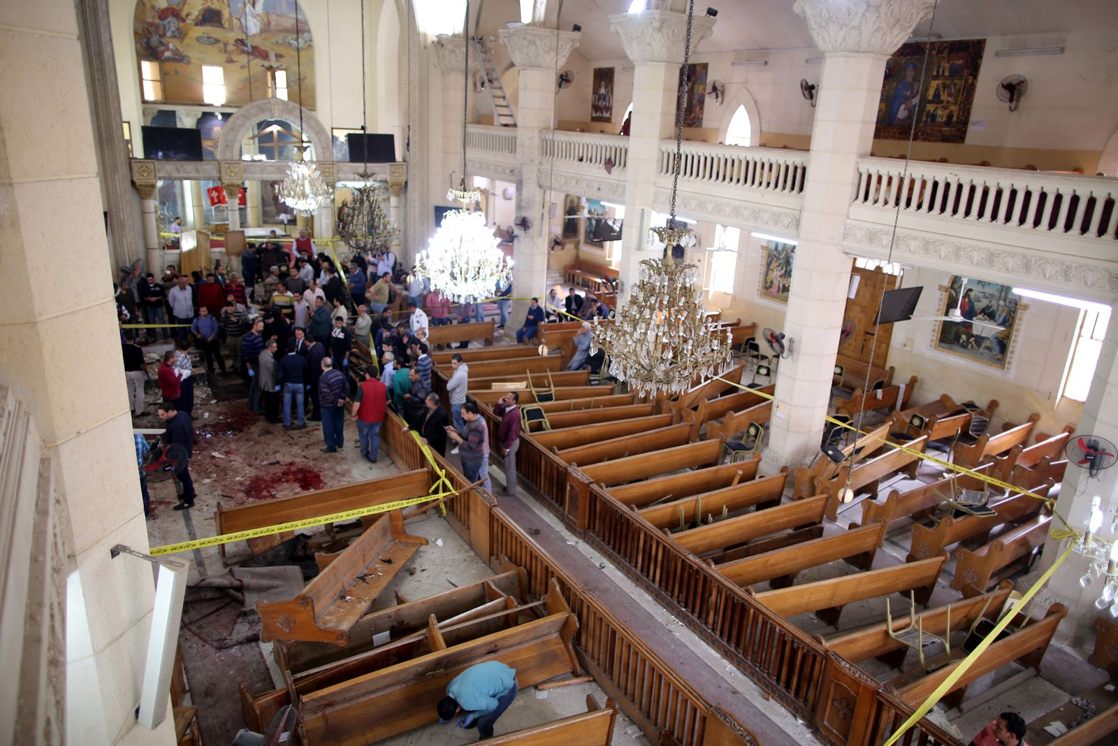 Ägypten Anschlag Palmsonntag/