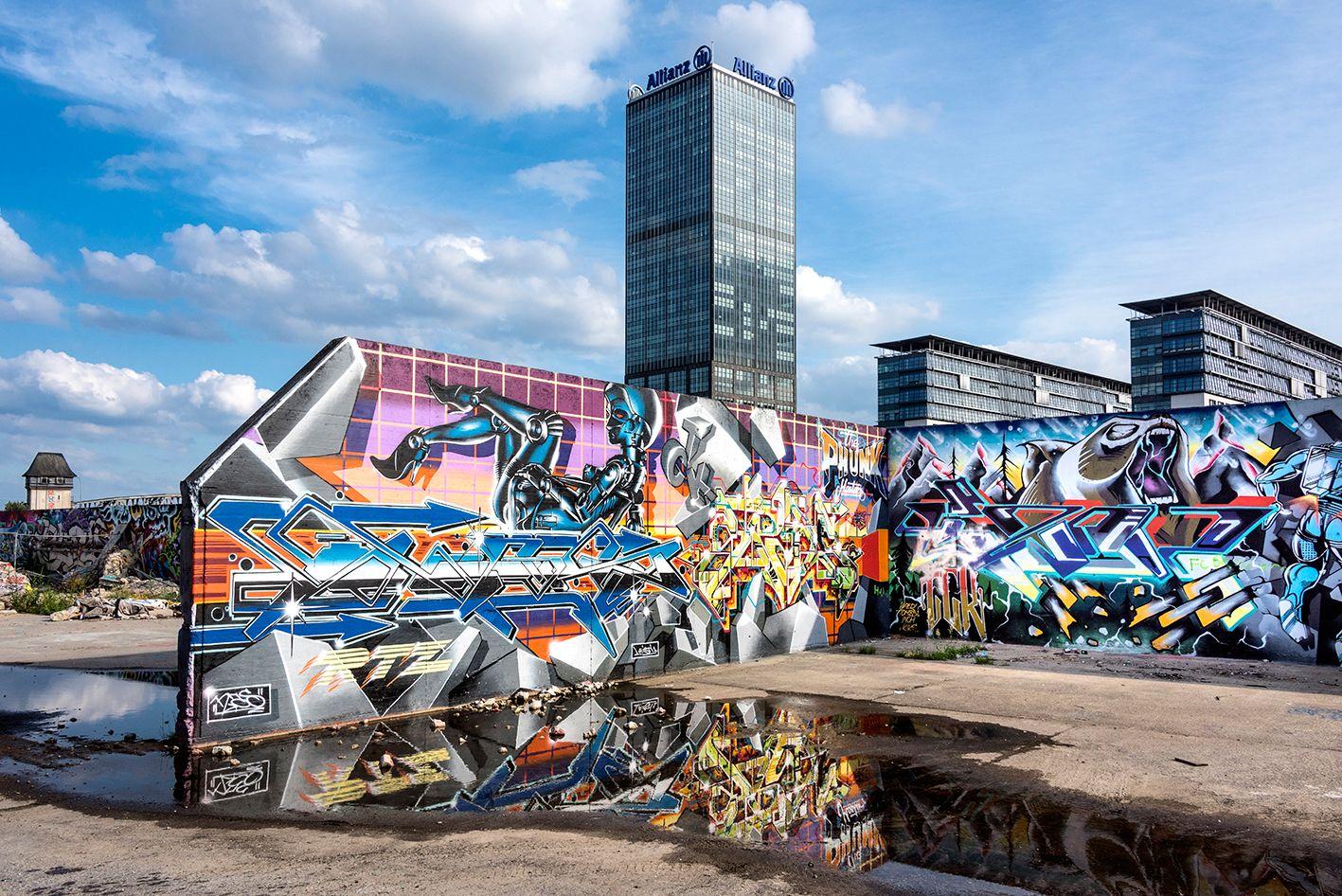 EINMALIGE VERWENDUNG Berlin / Hip-Hop-Tour