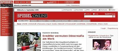 Aus Alt mach Neu: Am Mittwoch, 7. September 2006, erlebte SPIEGEL ONLINE seine siebte Frischzellenkur