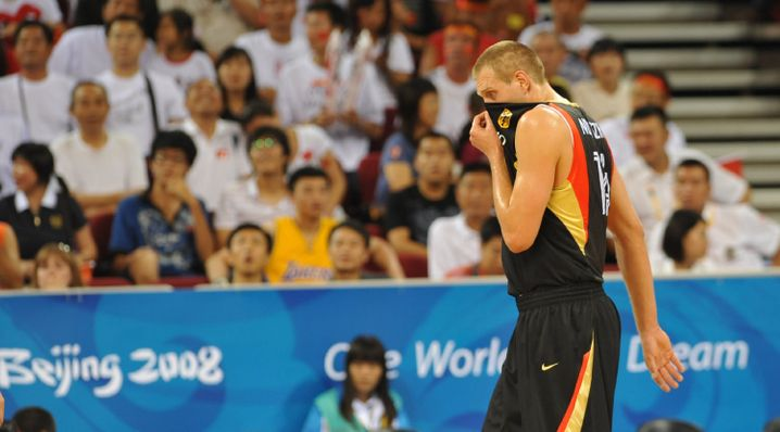 Nationalspieler Nowitzki (Peking 2008): Keine EM-Teilnahme