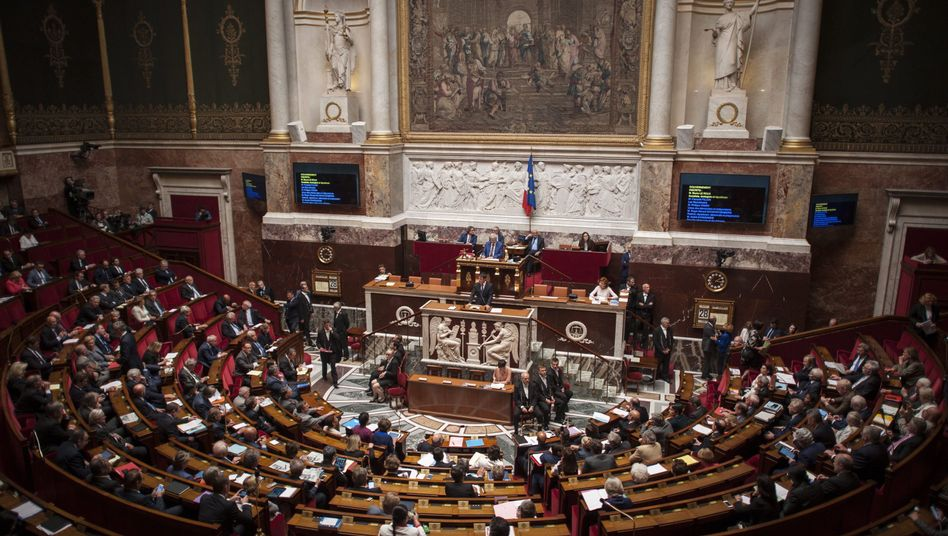 Nationalversammlung in Paris (Archivbild)