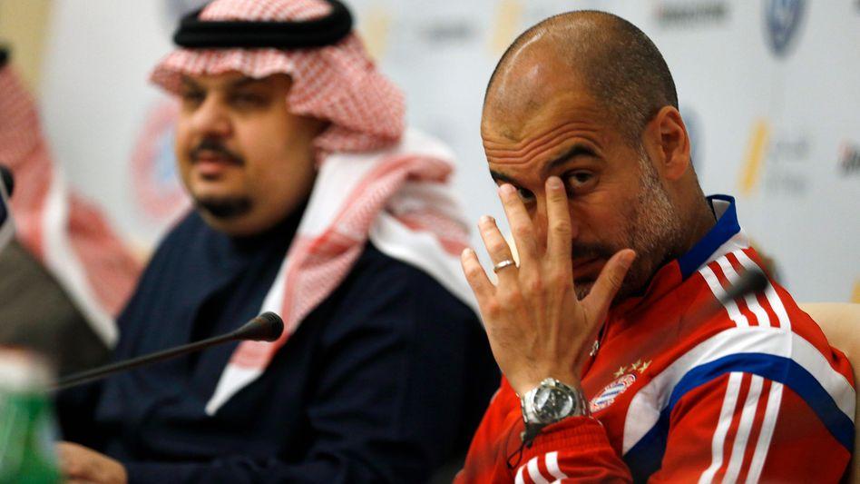 Bayern-Trainer Guardiola: Pressekonferenz in Saudi-Arabien
