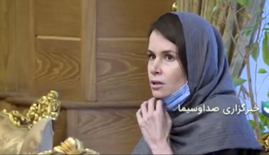 Iran released British-Australian prisoner, Tehran, Iran Islamic Republic Of - 25 Nov 2020