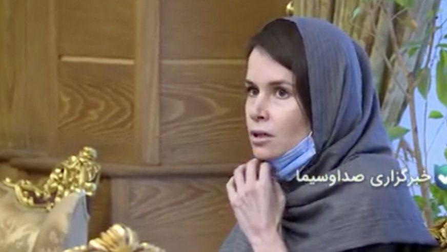 Kylie Moore-Gilbert darf Iran verlassen, die Bilder stammen aus dem iranischen Staatsfernsehen