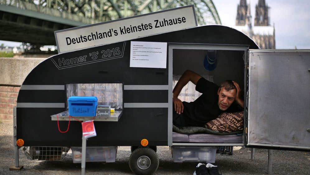 Maik Stolze: Mini-Wohnwagen mit 1,47 Quadratmetern