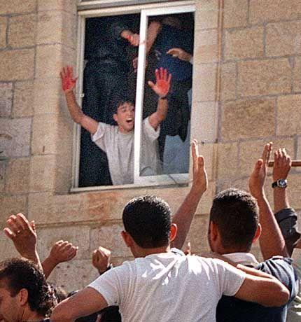 Stolzer Mörder in Ramallah
