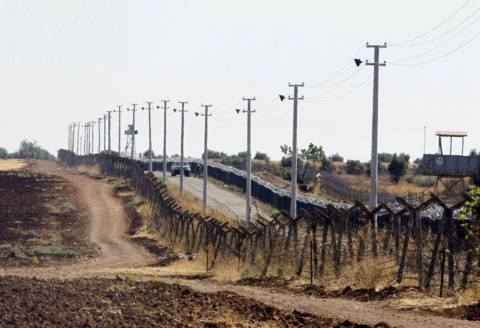 Grenze Syrien-Türkei