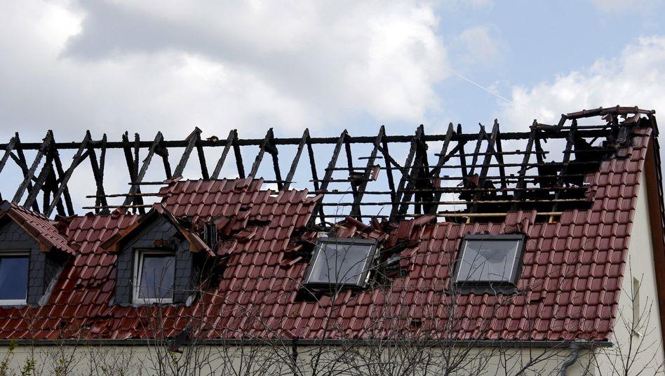 Anschlag in Tröglitz (Archivbild): Haftbefehl beantragt