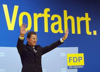 """Parteichef Westerwelle: """"Rot-Grün war ein historischer Irrtum"""""""