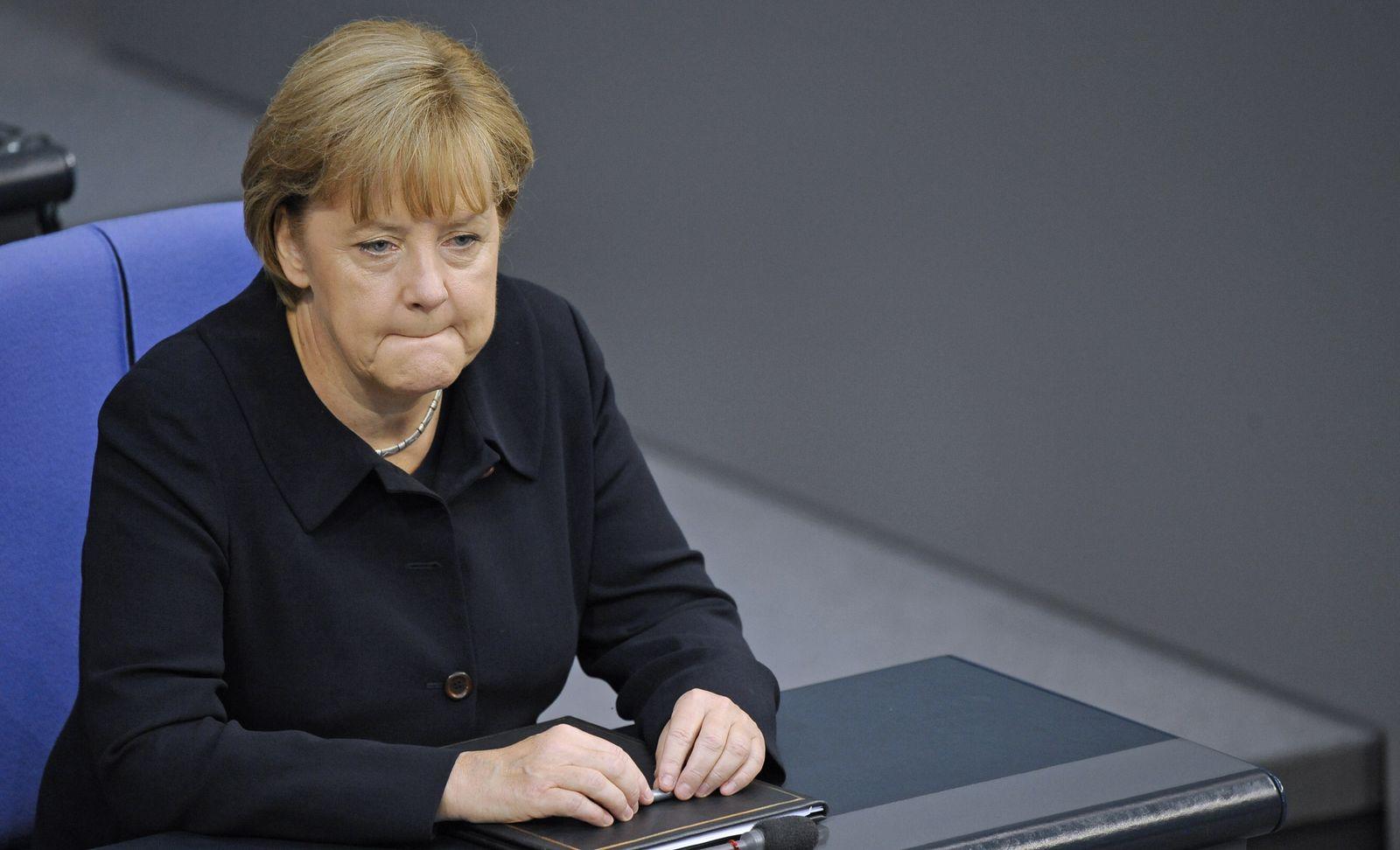 NICHT VERWENDEN Merkel/ Generaldebatte