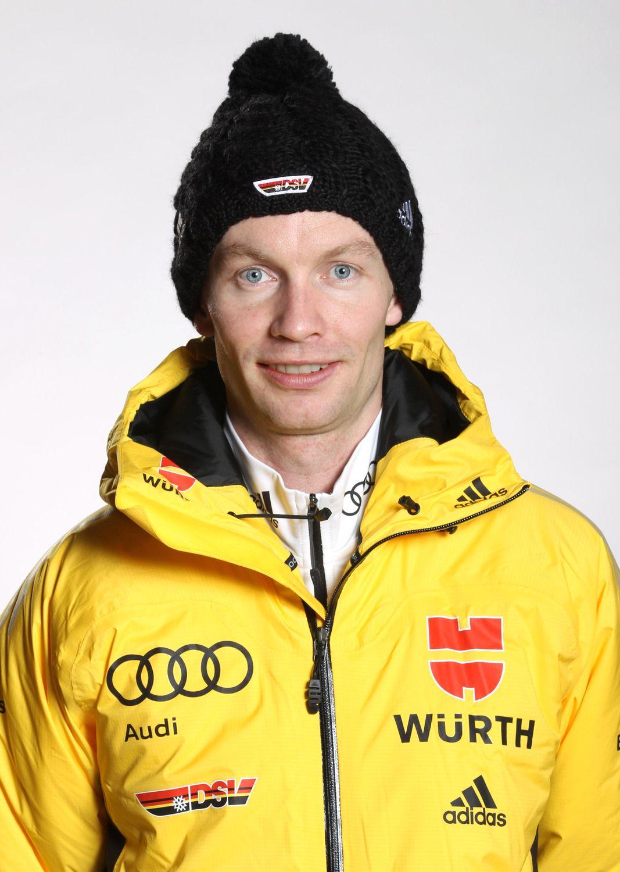 EINMALIGE VERWENDUNG Skispringer/ Maximilian Mechler