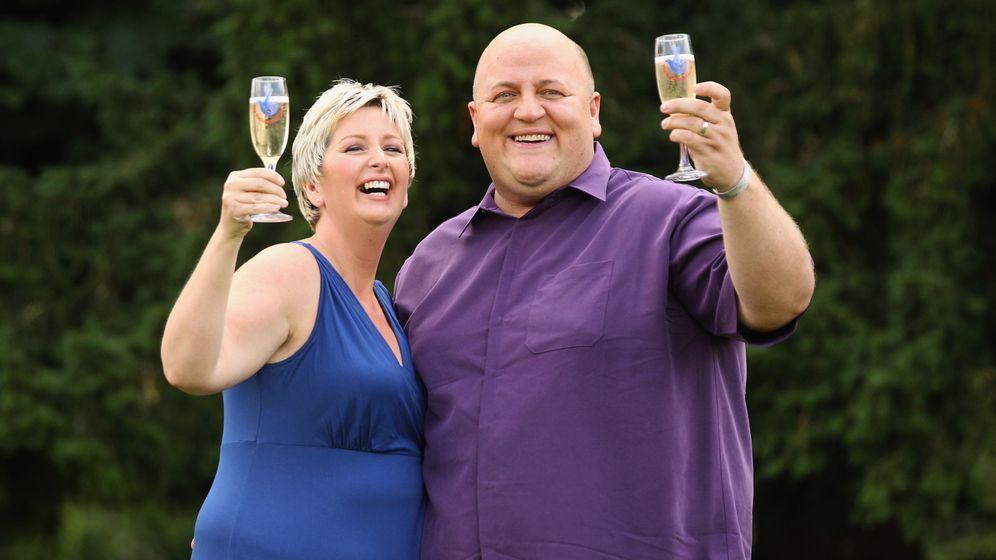 Britische Lottogewinner: Jubel über 190 Millionen Euro