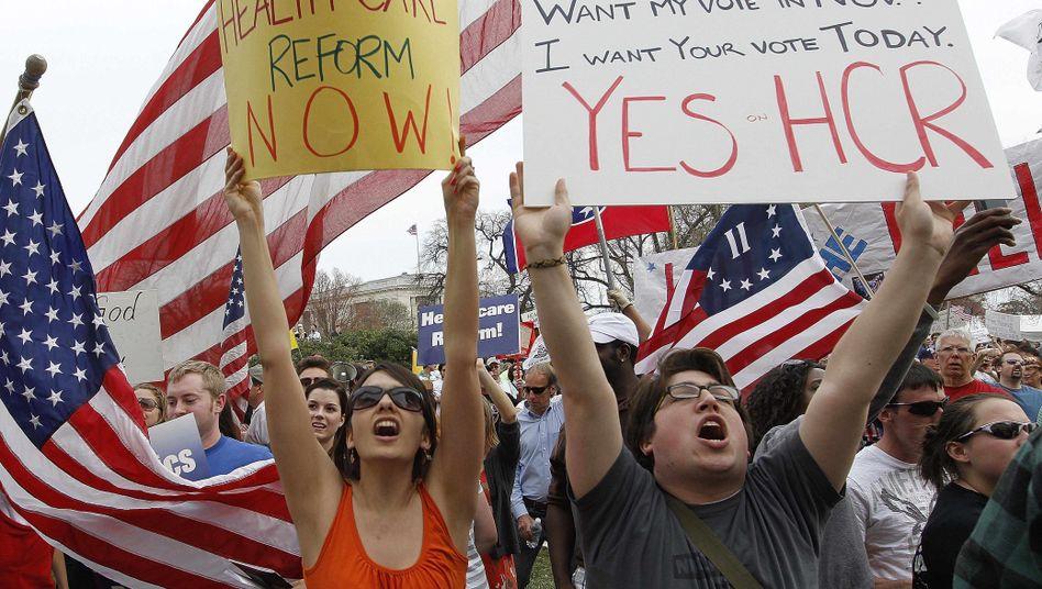 """Forderung nach Gesundheitsgesetz: """"Eine Reform, die die Republikaner lieben sollten"""""""