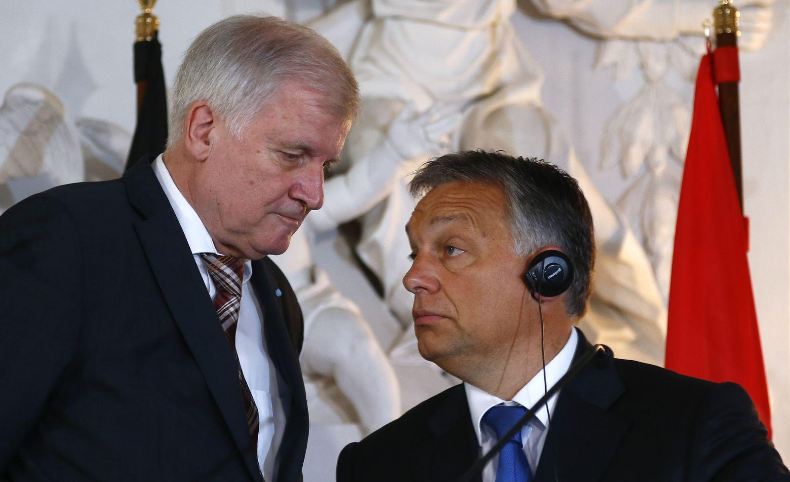 Seehofer Orban