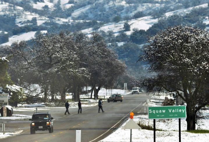 Das Skigebiet Squaw Valley