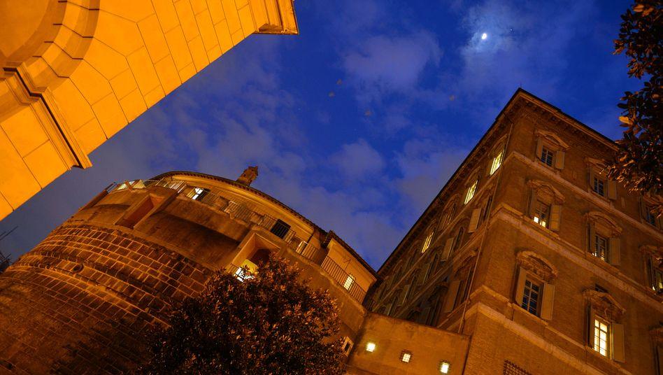 Zentrale der Vatikan-Bank IOR im Wehrturm Niccolò V.