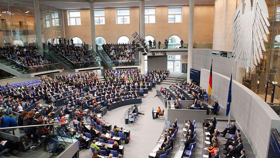 Abstimmung im Bundestag: Die Opposition soll mehr Rechte bekommen