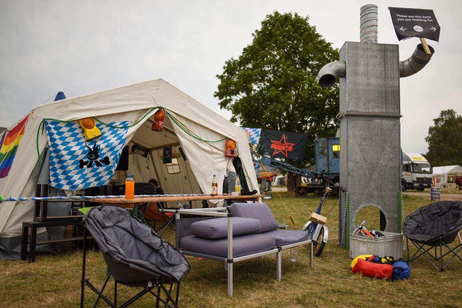 EINMALIGE VERWENDUNG CCC-Camp