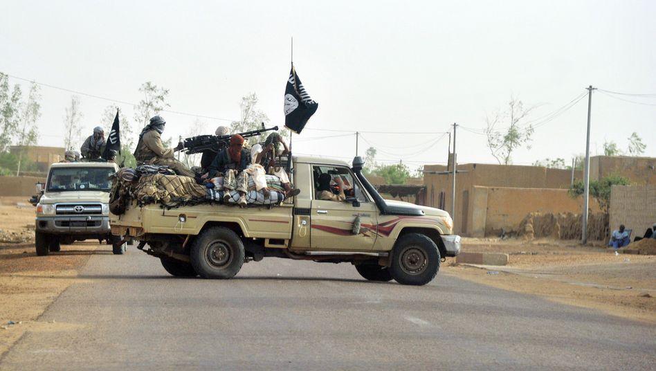 """Kämpfer der Islamistengruppe Mujao in Nordmali (Archivbild): """"Europa hat kein Konzept"""""""