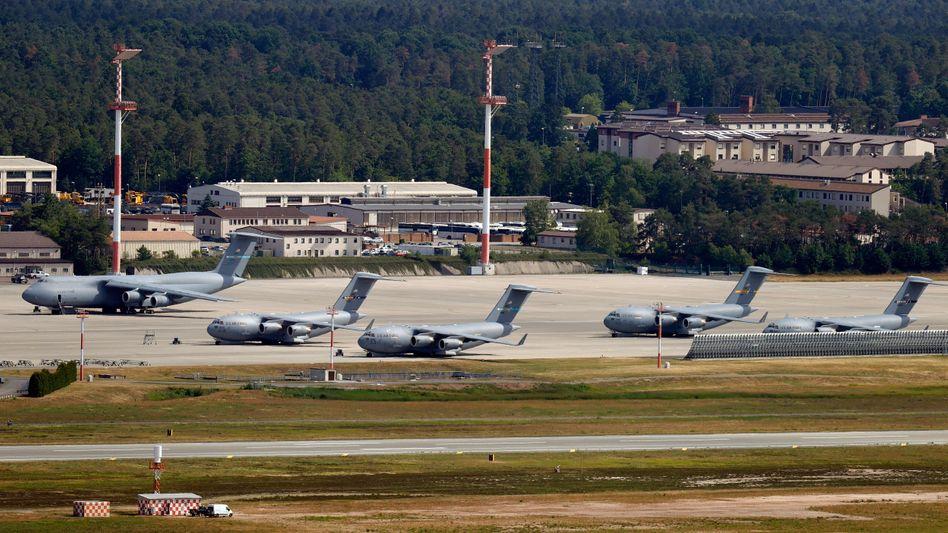 US-Basis Ramstein in Rheinland-Pfalz