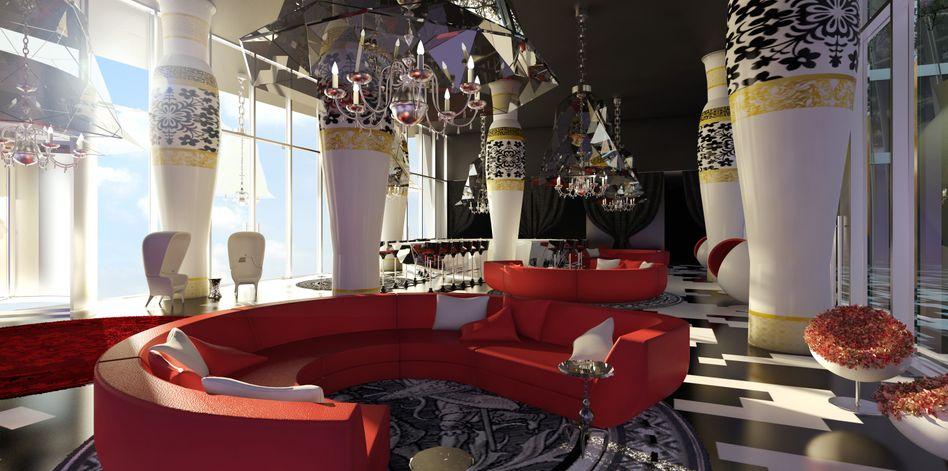 Lobby des Kameha Grand Bonn: Westerwelle engagiert sich für Unternehmer