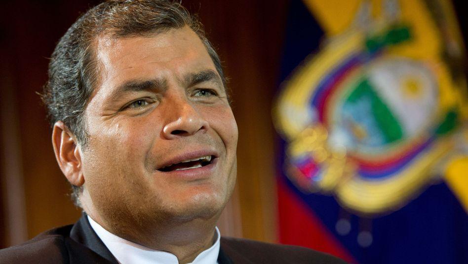"""Ecuadors Präsident Correa: """"Die Lösung liegt in russischen Händen"""""""