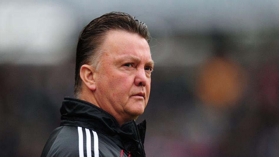 Fußballtrainer van Gaal: Wenige Punkte, viele Zweifel