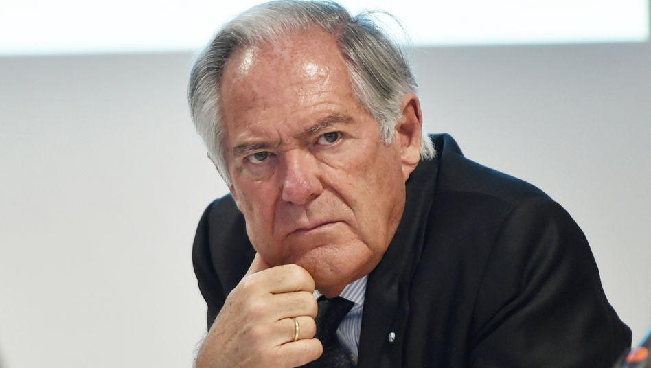 """Unternehmensberater Roland Berger (Archivbild): """"Selbstbetrug, den ich mir da habe zuschulden kommen lassen"""""""
