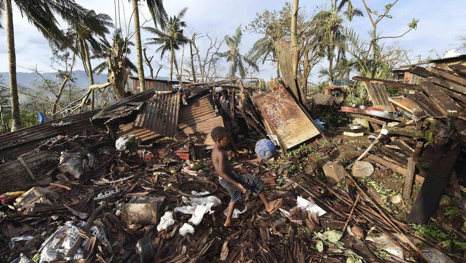"""Zyklon """"Pam"""" in Vanuatu: Ein Monster von einem Sturm"""