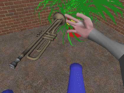 Virtual-Reality-Experiment: Simulierte Objekte bewegen