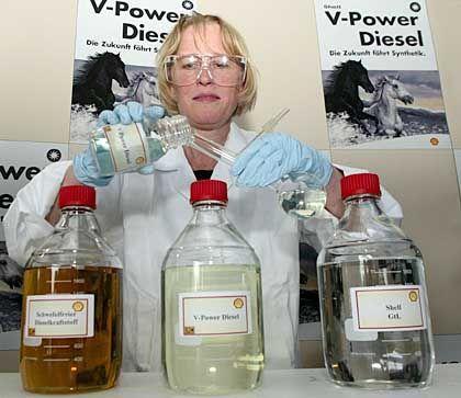 Shell V-Power Diesel: Aus Diesel, Additivpaket und GTL