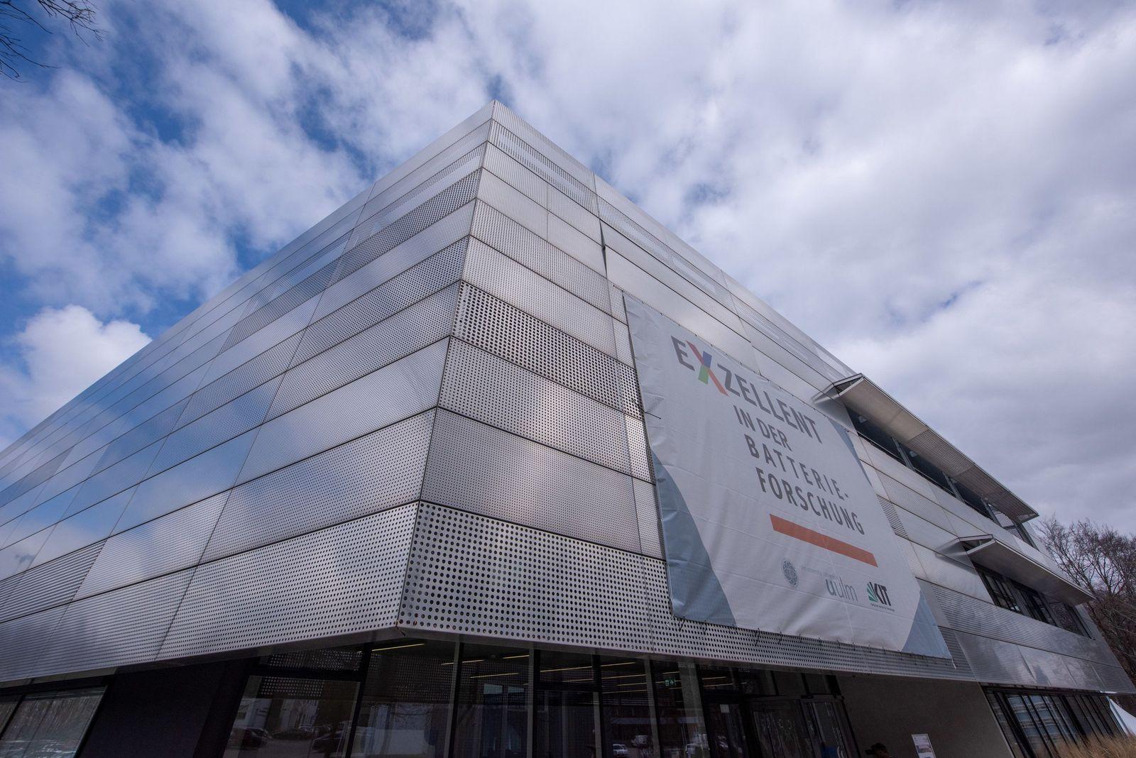 Forschung über Batterietechnologien in Ulm