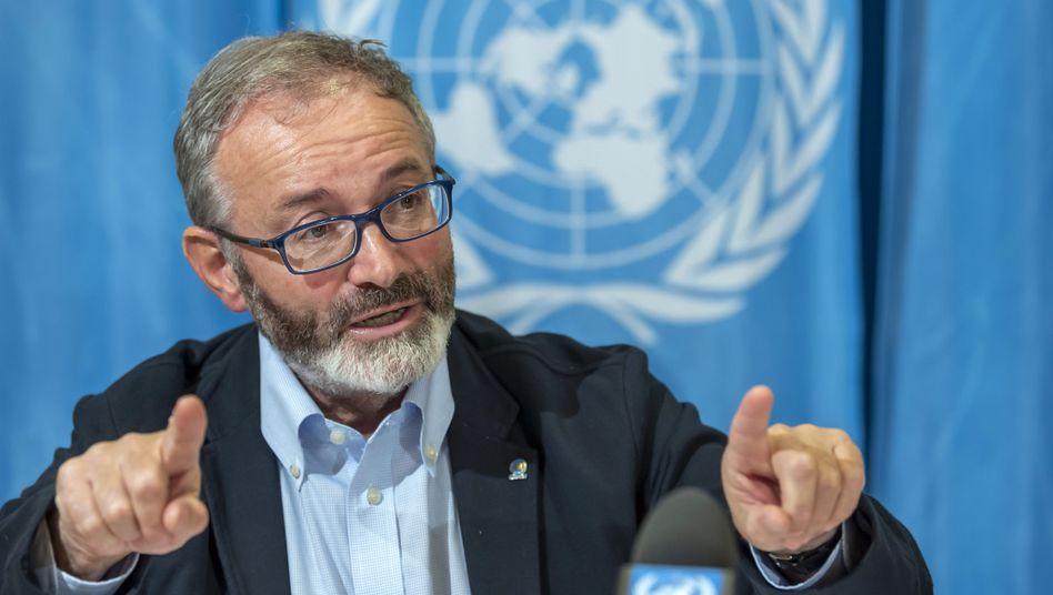 """Uno-Flüchtlingsbeauftragter über Libyen: """"Gibt es für Europa überhaupt eine rote Linie?"""""""