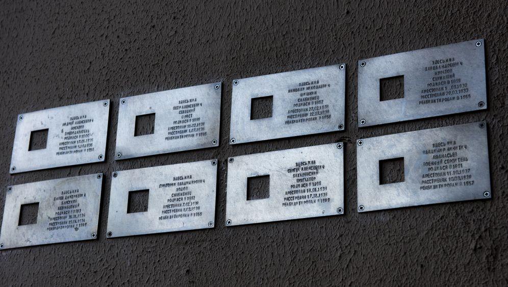 """Gedenken an Stalins Opfer: """"Letzte Adresse"""""""