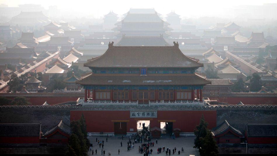 Derzeit ein heikles Reiseziel: Die verbotene Stadt in Peking
