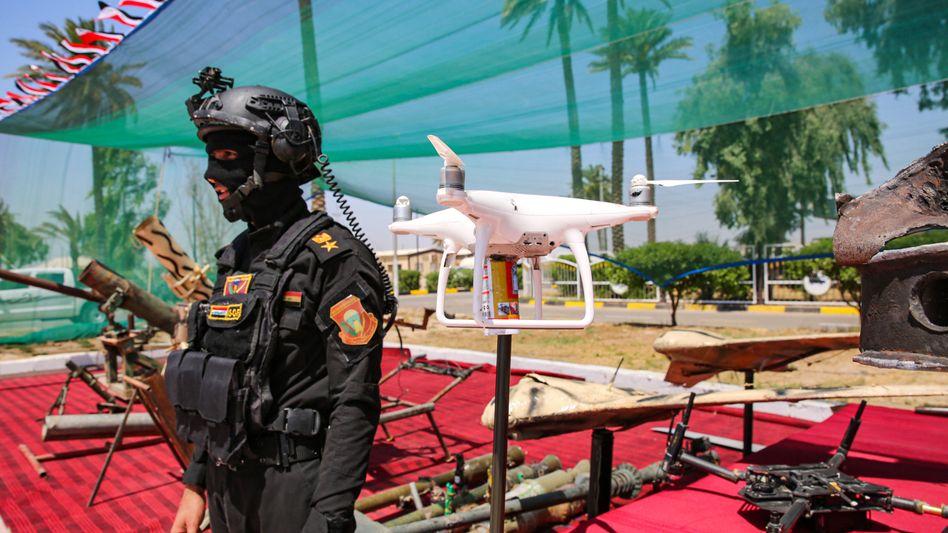 Mitglied der irakischen Sicherheitskräfte: Fähigkeiten vor Ort immer noch begrenzt