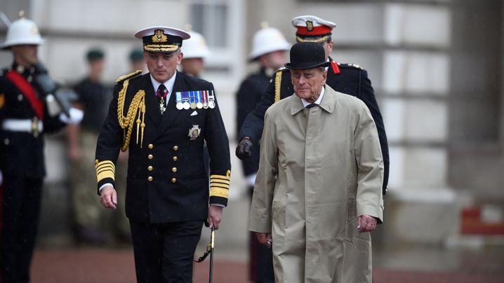 Letzter offizieller Termin: Prinz Philip ist dann mal weg
