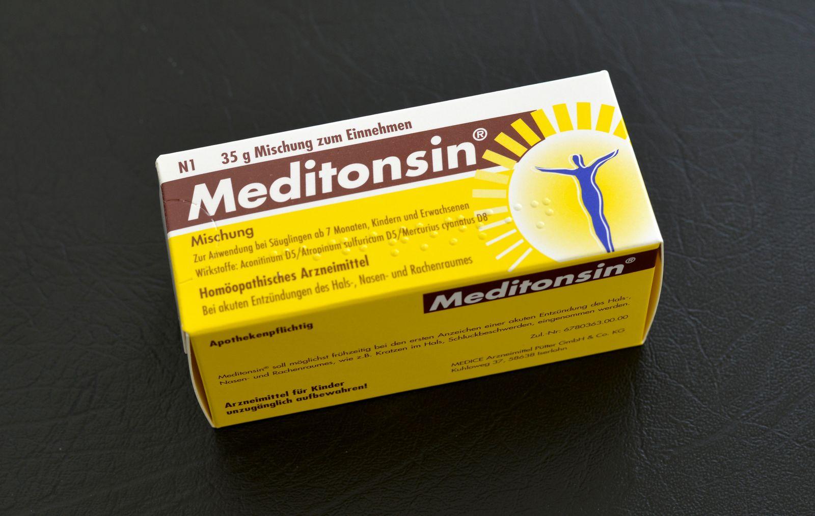 Erkältung / Grippaler Infekt / Medikamente / Meditonsin