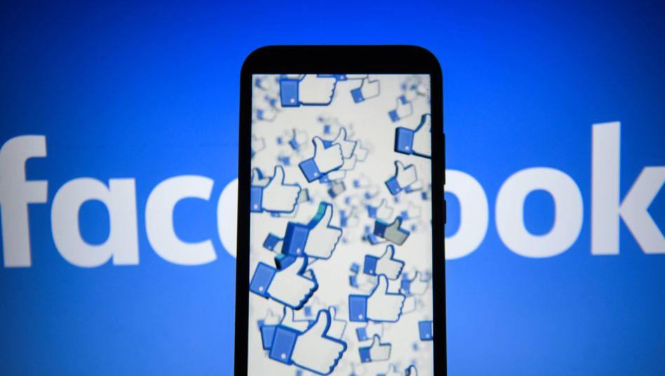 Facebook-Like-Daumen