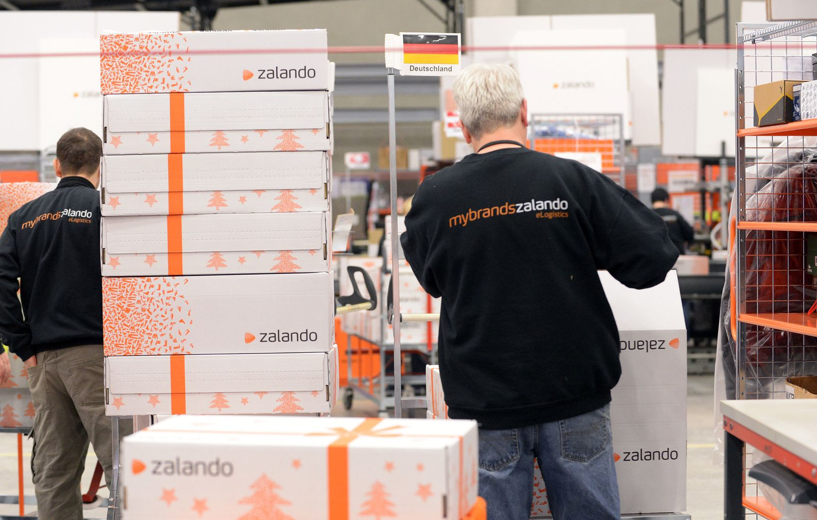 Zalando / Logistikzentrum / Erfurt