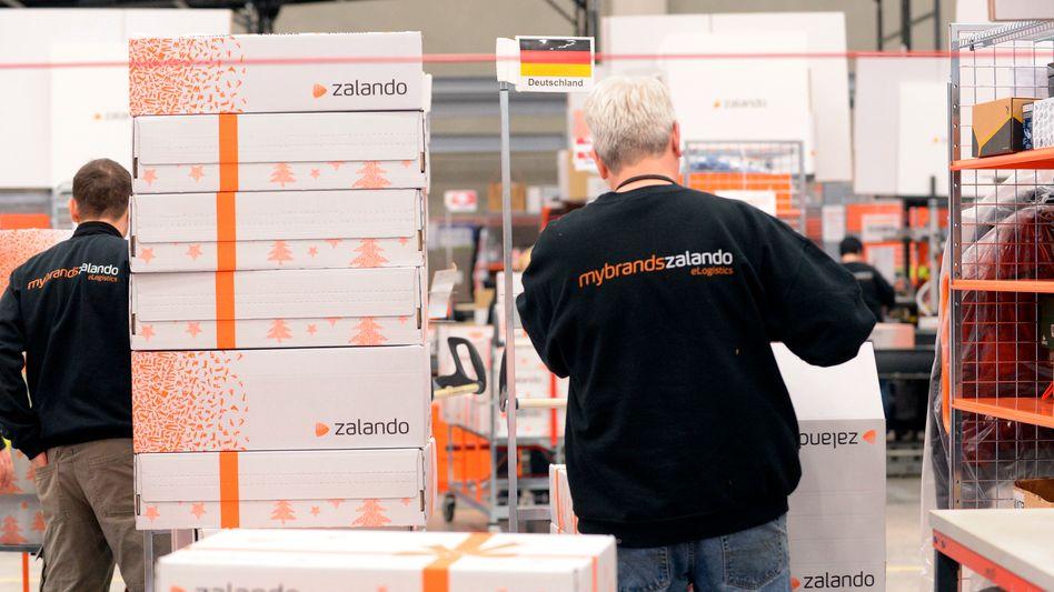 Zalando-Mitarbeiter in Erfurt: Investitionszuschüsse weiterhin abrufen