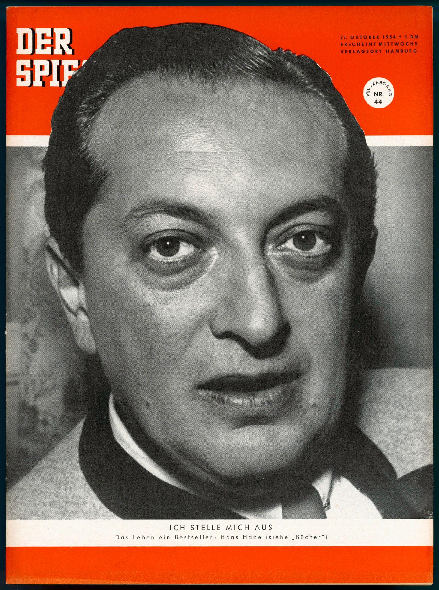 SPIEGEL-Titel 44/1954