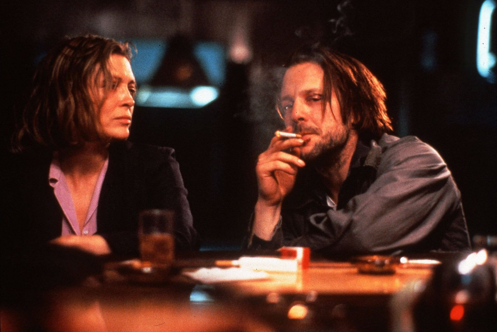 BARFLY BARFLY FAYE DUNAWAY, MICKEY ROURKE Date: 1987. Strictly editorial use only in conjunction with the promotion of t